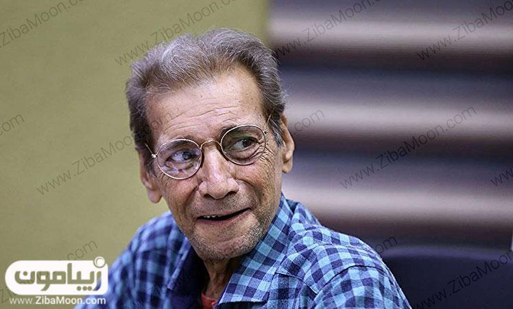 عکس حسین محب اهری بعد از بیماری