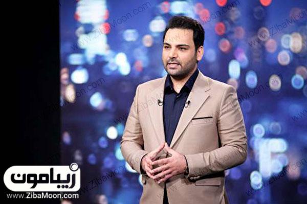 احسان علیخانی مجری مسابقه استعدادیابی