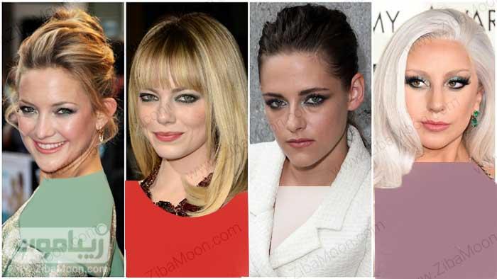آرایش چشم اسموکی برای چشم سبز