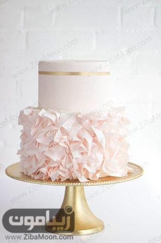 کیک عروسی ساده و مدرن