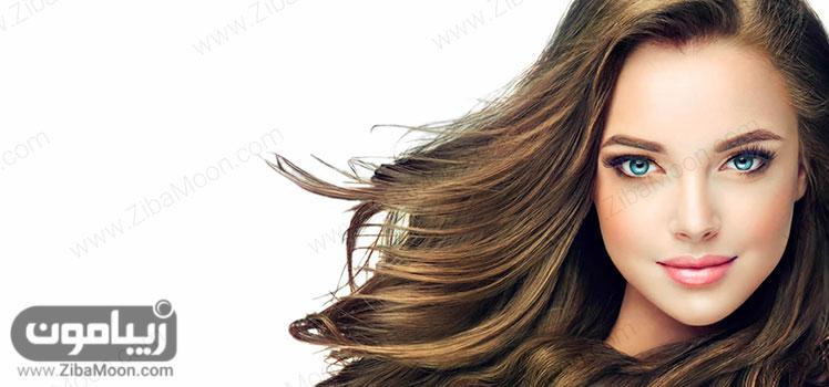 موهای پرپشت و زیبا