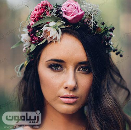 آرایش عروس عاشقانه و رمانتیک