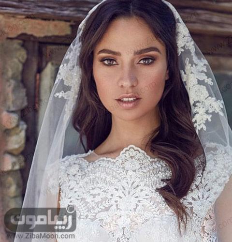 آرایش عروس اروپایی شیک و خاص