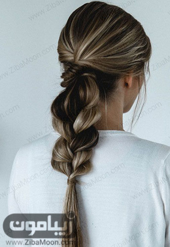 مدل مو دم اسبی زیبا و خاص