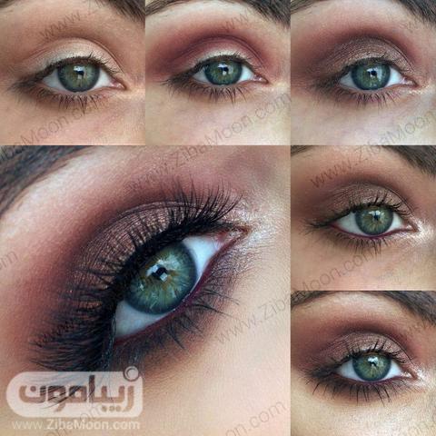 آرایش چشم ومپی