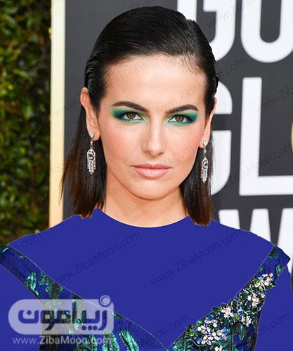سایه چشم سبز رنگ