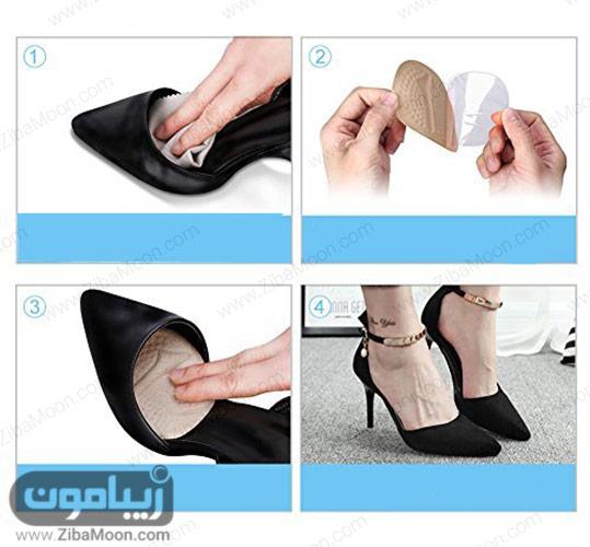 استفاده از پد ژلی برای کفش