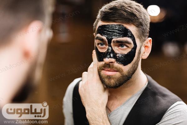 ماسک صورت زغالی مردانه