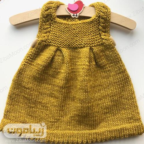 مدل سارافن بافتنی نوزادی