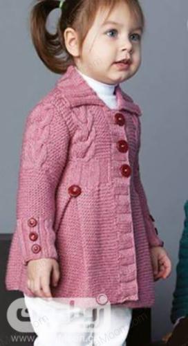 مدل لباس بافتنی بچه گانه دخترانه