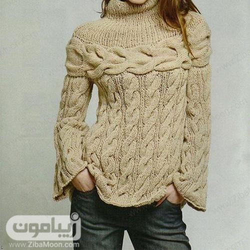 مدل لباس بافت زنانه و دخترانه دست بافت