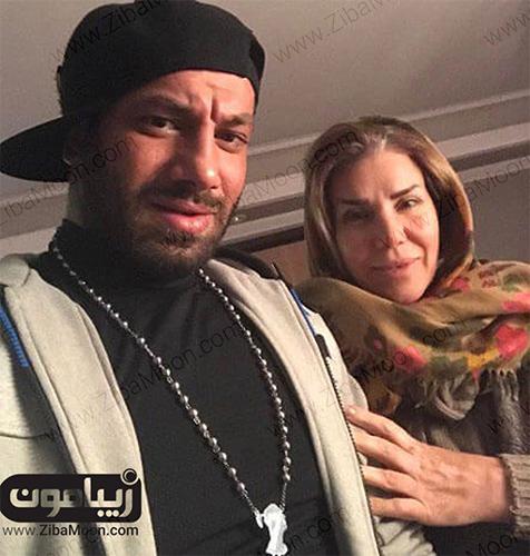 امیر تتلو و مادرش