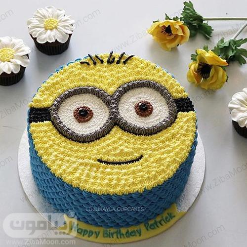 کیک خامه ای مینیون