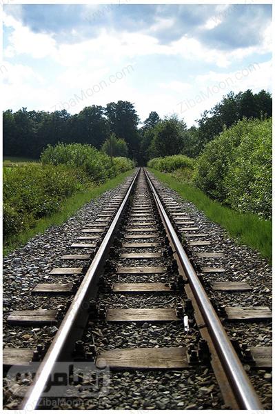 عکس پس زمینه موبایل ریل قطار
