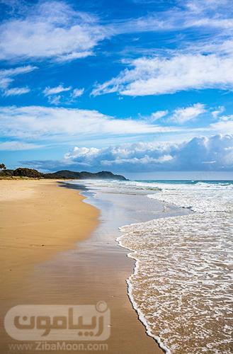 عکس بک گراند موبایل ساحلی