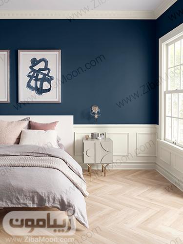 دیزاین اتاق خواب مطابق با رنگ سال 2020