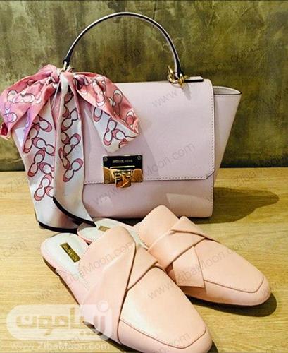 کیف و کفش صورتی از برندMICHEAL KORS
