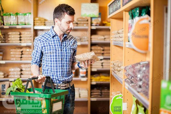 بررسی برچسب محصولات غذایی