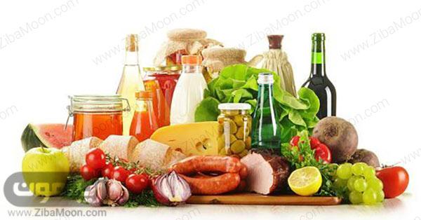 مواد غذایی اماده