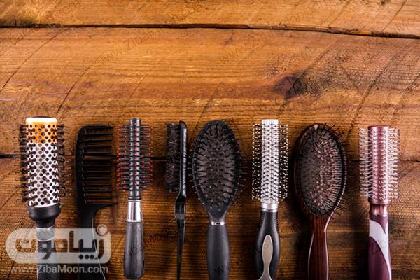مدلهای مختلف برس مو