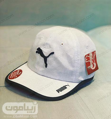 کلاه اسپرت سفید از برندpuma