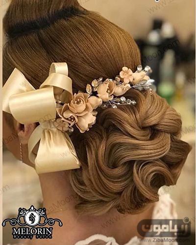 شینیون مو عروس