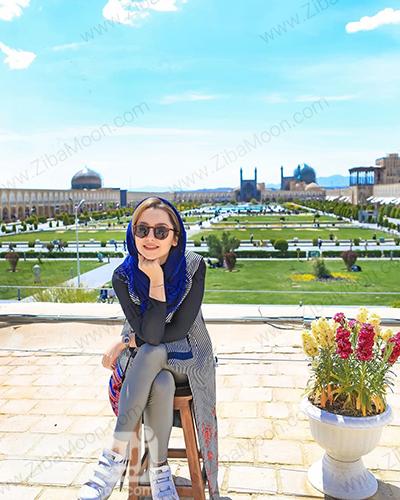 نازنین بیاتی در اصفهان