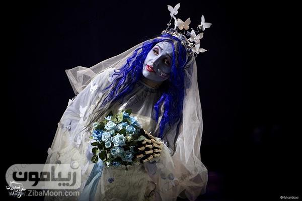 نازنین بیاتی در تئاتر عروس مردگان