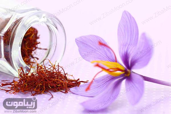 زعفران برای مو