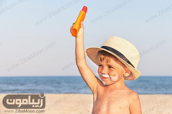 , روش درست استفاده از کرم ضد آفتاب