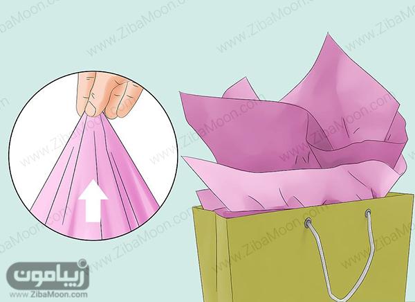 بسته بندی لباس برای کادو