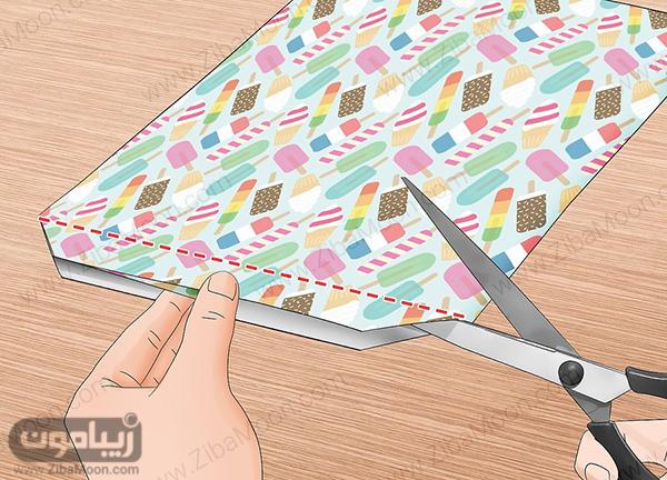قیچی زدن کاغذ