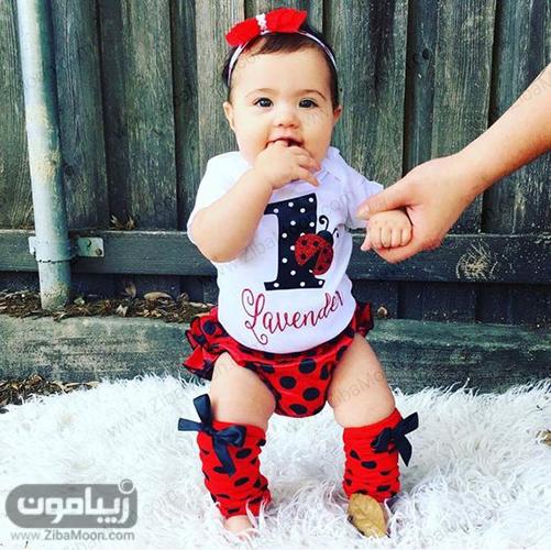 , تم تولد و لباس کفشدوزکی برای بچه ها + عکس