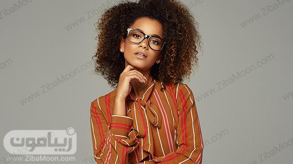 استایل دخترانه با عینک
