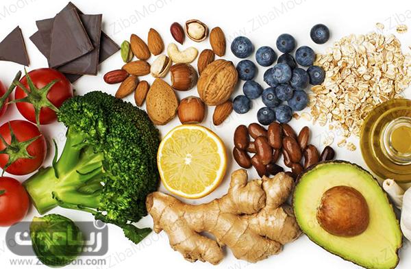 مواد غذایی مفید برای چشم