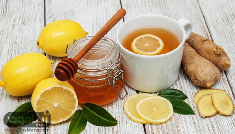 چای لیمو و زنجبیل