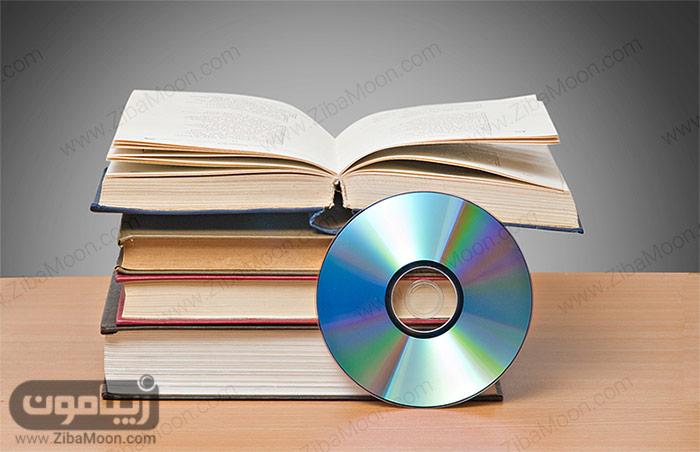 کتاب و دی وی دی