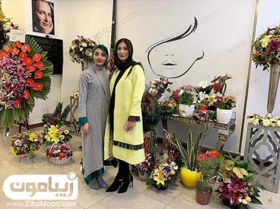 عروس فاطمه گودرزی در مراسم افتتاحیه سالن