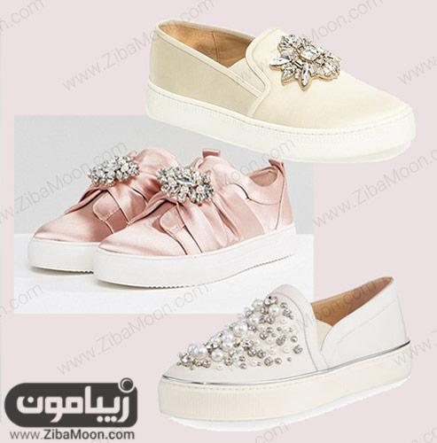 مدلهای شیک کفش راحتی عروس