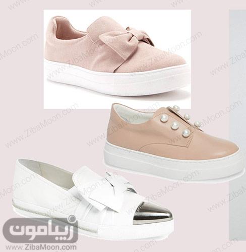 مدل کفش راحتی عروس