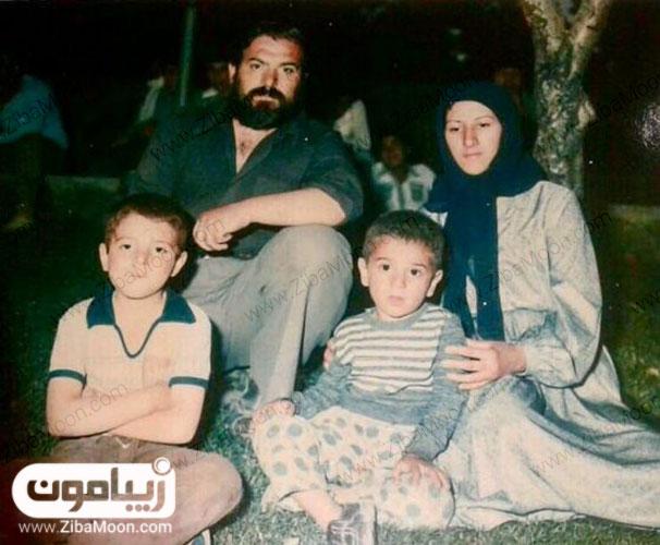 عکس خانوادگی علی انصاریان