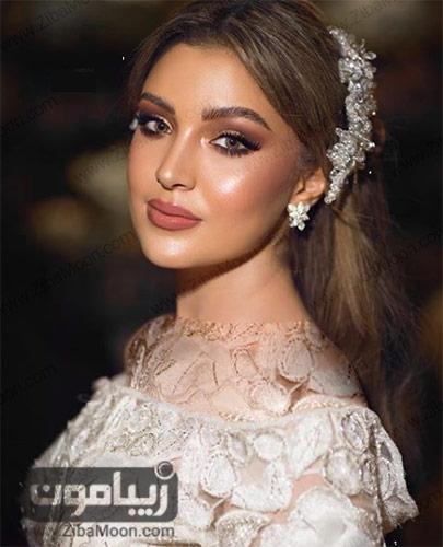 مدل آرایش جدید عروس