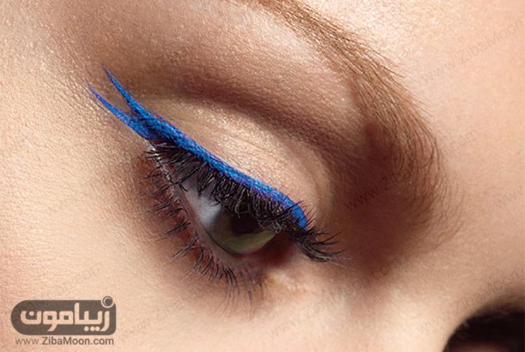 خط چشم آبی دنباله دار
