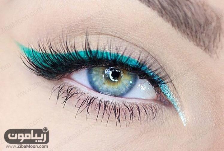 خط چشم آمبره سبز
