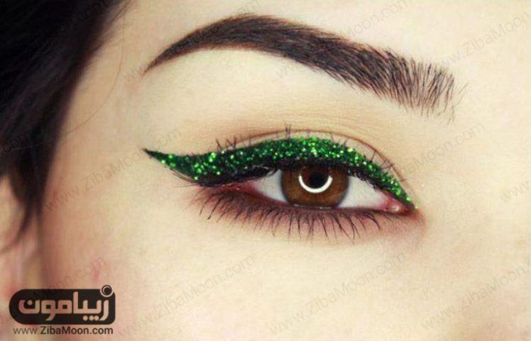 خط چشم سبز اکلیلی