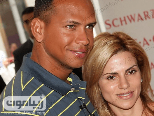 الکس رودریگز و همسر اولش