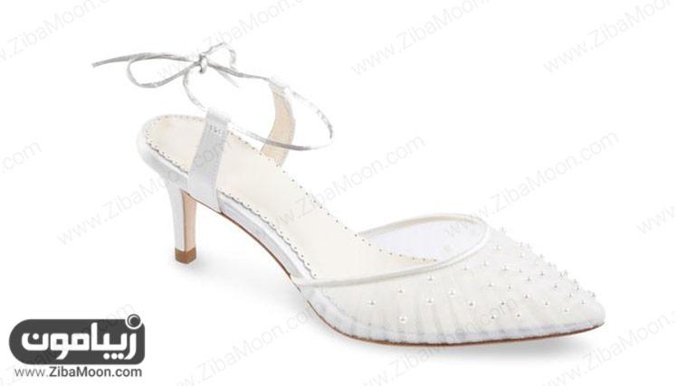 کفش عروس مرواریدی