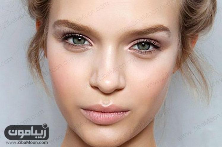 آرایش صورت طبیعی
