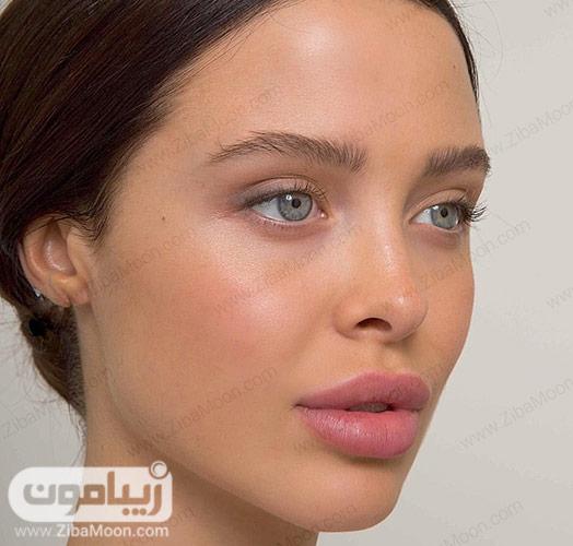 آرایش لایت و طبیعی صورت