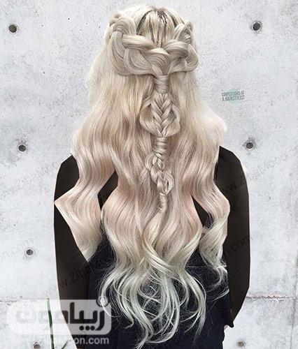 بافت مو ترکیبی زیبا و خاص